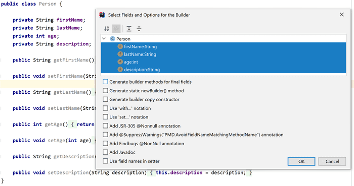 InnerBuilder plugin for IntelliJ IDEA